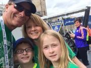 Mike Rossi a emmené ses enfants à Boston... (Image tirée de Facebook) - image 1.0