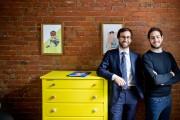 Les collectionneurs d'art Enrico Cremonese et Christian Khouri... (PHOTO MARCO CAMPANOZZI, LA PRESSE) - image 4.0