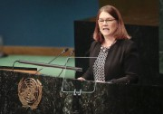La ministre fédérale de la Santé, JanePhilpott,a prononcé... (AP, Bebeto Matthews) - image 2.0