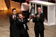 Le champion du concours, le Suédois Jon Arvin... (PHOTO PACHY REYNOSO, AFP) - image 7.0