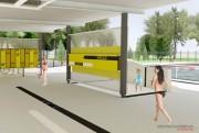 Le pavillon d'accueil, annexé au centre communautaire Lebourgneuf... (Larochelle et Desmeules architectes) - image 2.0