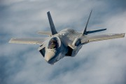 Un F-35.... (Photo courtoisie Lockheed Martin) - image 2.0
