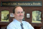 Denis Leclerc, président du Groupe Biscuits Leclerc, était... (Photothèque Le Soleil, Erick Labbé) - image 2.0