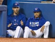 Les lanceurs des Jays, Marco Estrada et Marcus... (Fred Thornhill, PC) - image 1.0