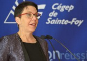 La directrice générale Carole Lavoie du Cégep de... (Le Soleil, Yan Doublet) - image 3.0