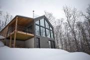 La maison de Julie Girard, à Sainte-Lucie-des-Laurentides, est... (PHOTO PATRICK SANFAÇON, LA PRESSE) - image 7.0