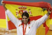 Nadal lors des Jeux olympiques de Pékin, en... (Archives Associated Press) - image 3.0