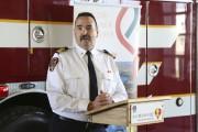 Le directeur du service de sécurité incendie de... (Janick Marois, La Voix de l'Est) - image 1.0