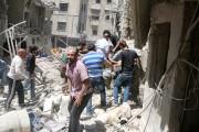 Le quartier rebelle d'al-Kalaseh, à Alep, a... (PHOTO ABDALRHMAN ISMAIL, REUTERS) - image 4.0