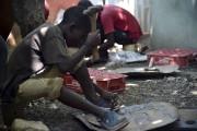 Au village de Noailles, en périphérie de Port-au-Prince,... (Agence France-Presse, Hector Retamal) - image 2.0