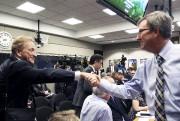 Le maire Jim Watson a félicité le propriétaire... (Etienne Ranger, LeDroit) - image 5.0