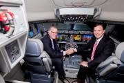 Dans l'avion CSeries maquillé du logo de Delta... (La Presse, Alain Roberge) - image 2.0