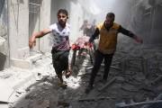 «C'est très douloureux de voir mourir des collègues,... (PHOTOAMEER ALHALBI, AGENCE FRANCE-PRESSE) - image 1.0
