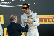 Vainqueur au Grand Prix de Russie, Nico Rosberg a... (Associated Press) - image 4.0