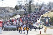 Au moins 4000 personnes ont participé à une... (Le Quotidien, Gimmy Desbiens) - image 2.1