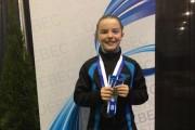 La jeune gymnasteOlivia Dunkley... (Fournie) - image 2.0