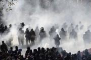 À Paris, les affrontements entre les manifestants et... (AFP, Alain Jocard) - image 5.0