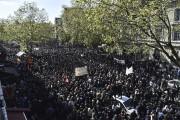 À Paris, entre 16 000 manifestants selon la... (AFP, Alain Jocard) - image 6.0
