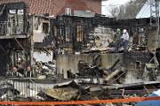 Le bilan fait état de quatre bâtiments détruits.... (Le Soleil, Patrice Laroche) - image 5.0