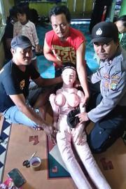 Ce n'est pas un ange, mais bien une... (PHOTO POLICE DE L'INDONÉSIE) - image 1.0