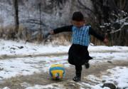 Murtaza avait fait le tour d'internet en janvier... (PHOTO AFP) - image 1.0