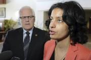 Le député de Dubuc, Serge Simard et la... (Photo Le Quotidien, Mariane L. St-Gelais) - image 2.0