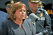 La gouverneure du Nouveau-Mexique, Susana Martinez, apparaît sur... (PHOTO RUSSELL CONTRERAS, ASSOCIATED PRESS) - image 2.0