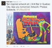 À la veille de leur spectacle à Québec,... (Twitter) - image 1.0