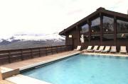 La piscine, chauffée, offrait la possibilité d'une baignade... (La Tribune, Jonathan Custeau) - image 2.0
