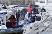 Plusieurs policiers de la Sécurité publique de Saguenay... (Photo Le Quotidien, Rocket Lavoie) - image 1.0
