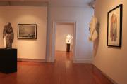 Vue de l'exposition Transgénèse, Sculptures et estampes, présentée... (PhotoAlice Mestriner, fournie par le duo AZed) - image 1.1