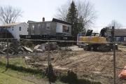 Les travaux de démolition des neuf résidences expropriées... (Catherine Trudeau, La Voix de l'Est) - image 2.0