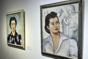 À ses débuts, Jean Soucy peint ses soeurs... (Photo Le Progrès-dimanche, Rocket Lavoie) - image 3.0
