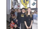 Les neuf élèves de l'école secondaire de l'Odyssée... (Le Progrès-Dimanche, Mélissa Viau) - image 1.0