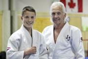 Arno Blackière s'entraîne au club Judokas de Jonquière... (Photo Le Progrès-dimanche, Rocket Lavoie) - image 1.0