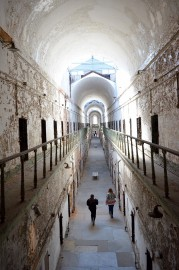 Un couloir de l'Eastern State Penitentiary.... (PHOTO VINCENT FORTIER, COLLABORATION SPÉCIALE) - image 5.0