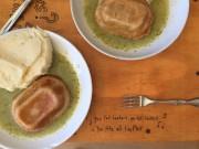 Voilà une tarte salée renversée couverte d'une sauce... (PHOTO JONATHAN BOUCHARD, COLLABORATION SPÉCIALE) - image 6.0