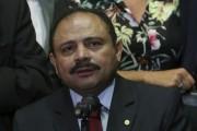 Le nouveau président par intérim de l'Assemblée brésilienne,... (AP, Eraldo Peres) - image 2.0