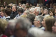 Près de 350 personnes ont assisté lundi à... (Stéphane Lessard, Le Nouvelliste) - image 1.0
