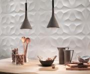 Les carreaux «diamond», de la collection 3D Wall... (PHOTO FOURNIE PAR CIOT) - image 1.0