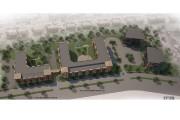 L'actuel bâtiment, au centre, sera bientôt entouré de... - image 3.0