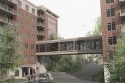 Une passerelle entièrement vitrée sera aussi construite entre... - image 3.1