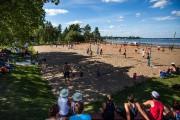 Le Festi-Beach du secteur Lac-à-la-Tortue a pris une... (Olivier Croteau, Le Nouvelliste) - image 4.0