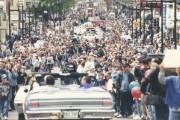 Une foule estimée à 30000personnes acclamait ses champions... (Archives La Voix de l'Est) - image 1.0