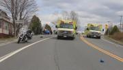 Deux motocyclistes de la région de Québec sont... (Photo fournie par Radio-Canada) - image 1.0