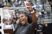 Pour Serena Williams, il s'agit d'un quatrième titre... (AFP, Filippo Monteforte) - image 3.0