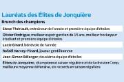 Comme prévu, les Élites de Jonquière sont repartis... (Infographie Le Quotidien) - image 2.0