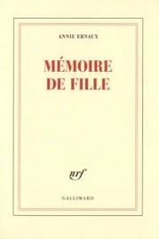 Mémoire de fille, d'Anne Ernaux... (Photo Catherine Hélie, fournie par Gallimard) - image 2.0