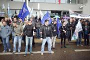 Les syndicats policiers ont appelé à des rassemblements... (PHOTO) - image 1.0