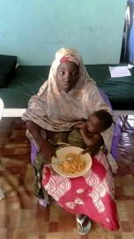 Amina Ali, mère d'une fillette de quatre mois,... (AFP, Stringer) - image 2.0